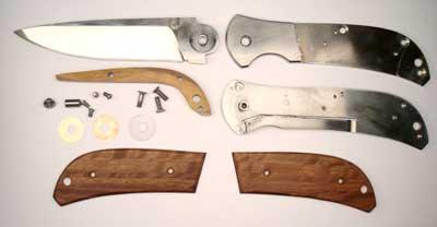Как сделать своими руками раскладной нож
