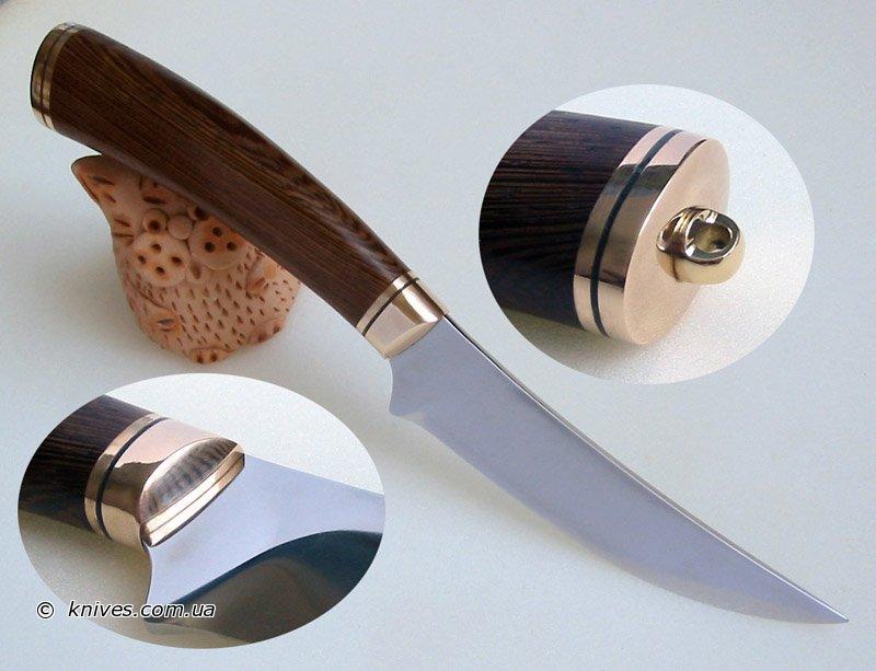Нож в домашних условиях ручка